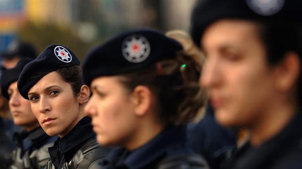 Turkey Lifts Military Ban On Headscarves