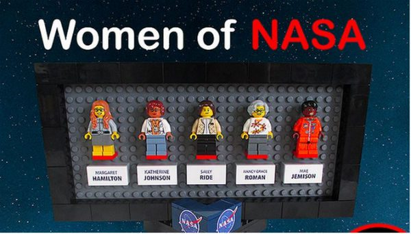 Women of NASA Get LEGO-sized Tribute