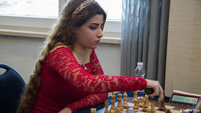 Iran bans chess player for not wearing the hijab