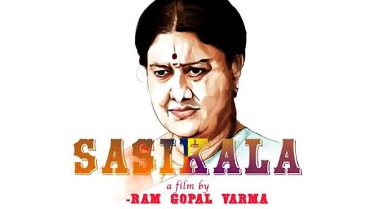 Poster of RGV's next Film Based On Sasikala's Life
