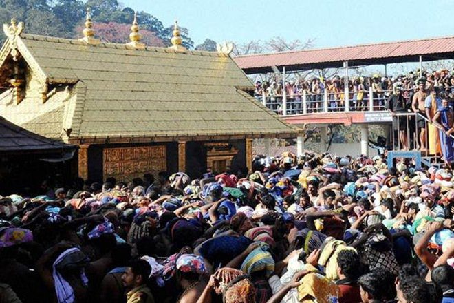 Women's restrictions in temples