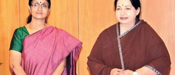 Tamil Nadu Government Adviser Sheela Balakrishnan Quits