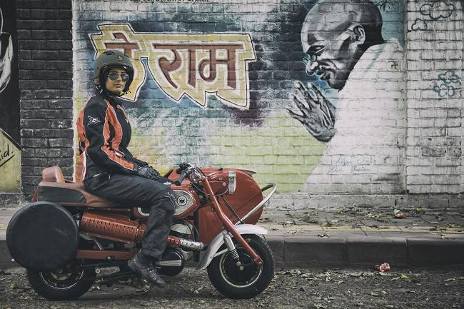 Sonia Jain - the first Indian woman to ride 100 different motorcycles