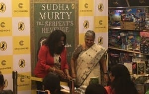 Sudha Murthy at her book launch