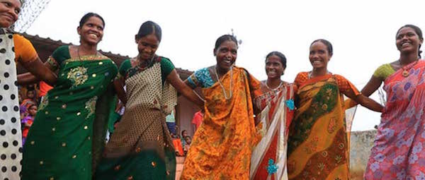 tribal women in western ghats
