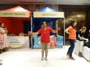 Fun activities organised At Fitness Fest
