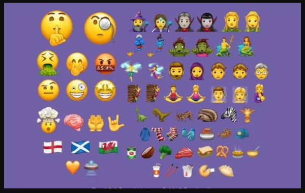 Gender-neutral emoji approved for 2017