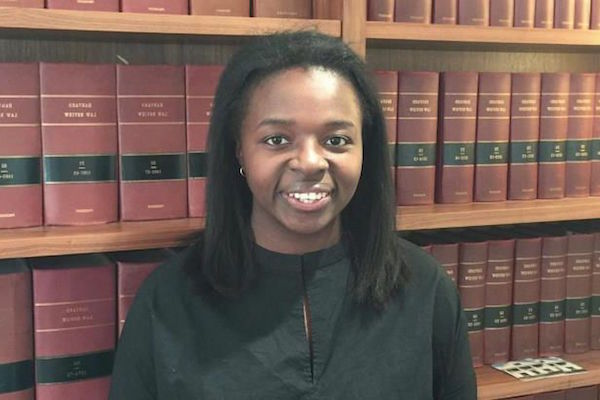 Imelme Umana first female black president of Harvard Law Review
