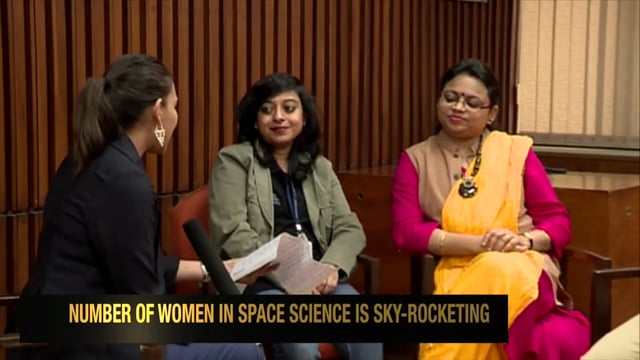 Minnie Vaid Woman on Mars ISRO