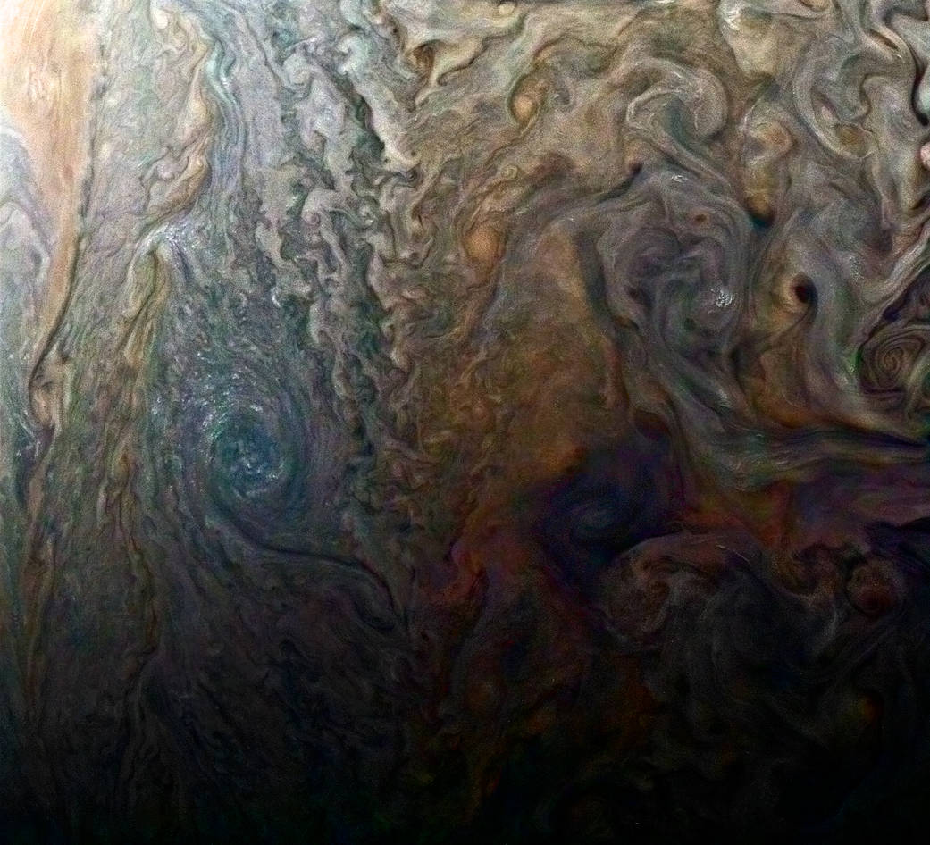 Dark Spot on Jupiter