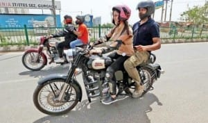 First-time women bikers take a spin on Gurgaon roads