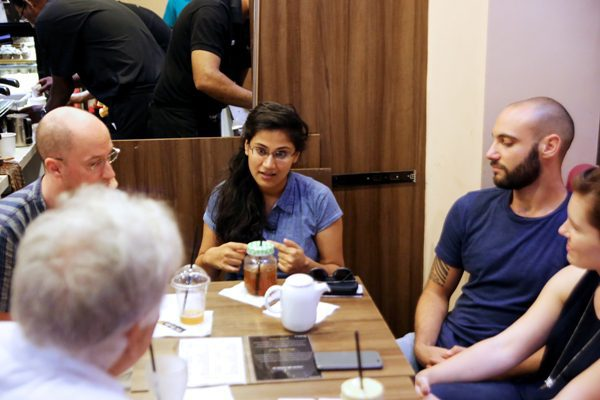 Pallavi Singh at one of her teaching sessions