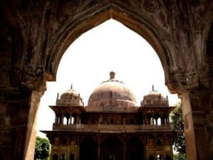 The tomb of the Sufi Saint