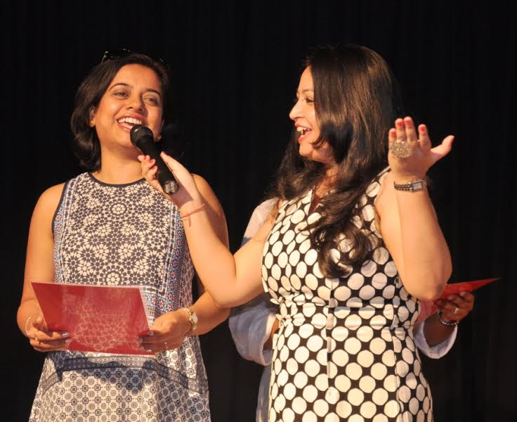 Neha Arora Nicholas, a happiness expert, conducting a workshop on 'World Happiness Day'