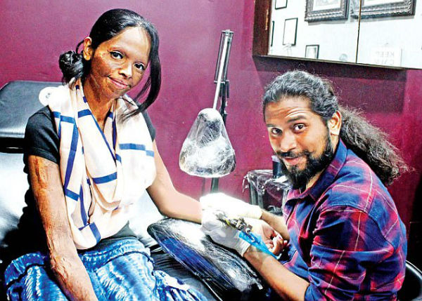 Acid Attack Survivors Turns Tattoo Artists