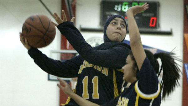 FIBA allows hijabs and turbans on the court