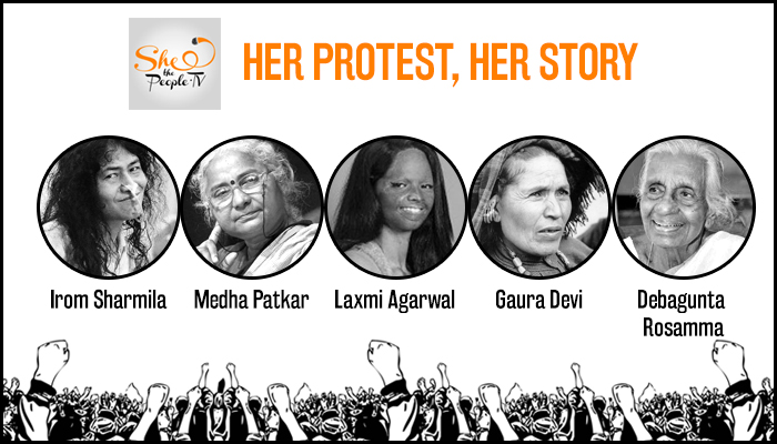5-iconic-protests-led-by-indian-women
