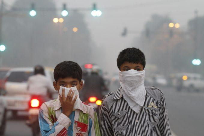 Delhi Pollution Schools Shut