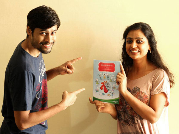 Aditi and Tuhin - Founders of Menstrupedia