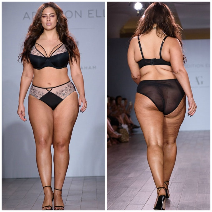 Ashley Graham Proudly Shows Off Her Cellulite: See ThePics