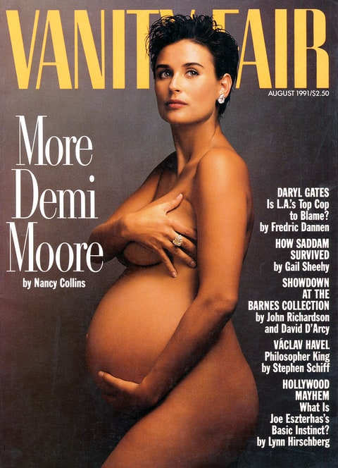 Demi Moore Vanity Fair cover