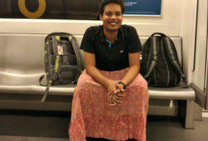 Delhi Men wear Skirts in metro