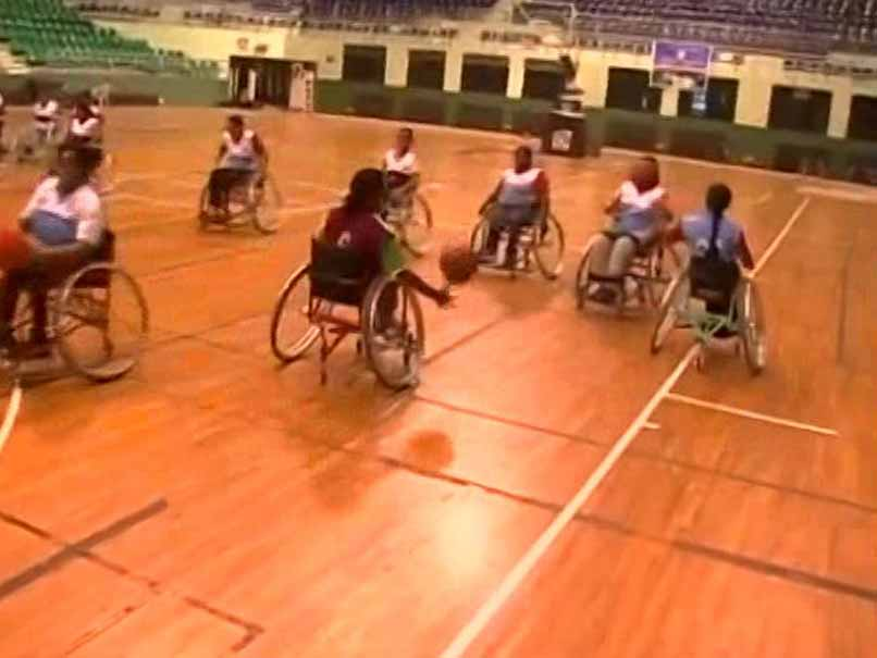 Indian women's wheelchair basketball team