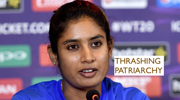 Bengaluru: Indian Woman's Cricket Team captain Mithali Raj speaks during a press conference in Bengaluru on Wednesday. PTI Photo by Shailendra Bhojak(PTI3_9_2016_000189B)