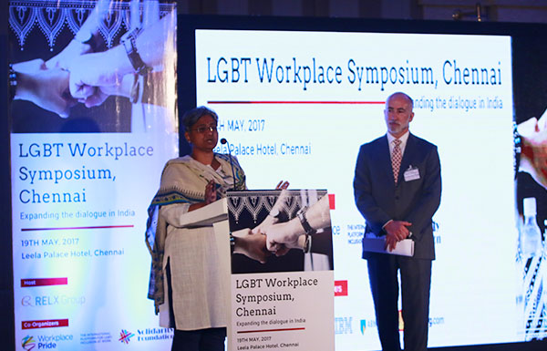 Shubha Chacko at the LGBT Workplace Symposium