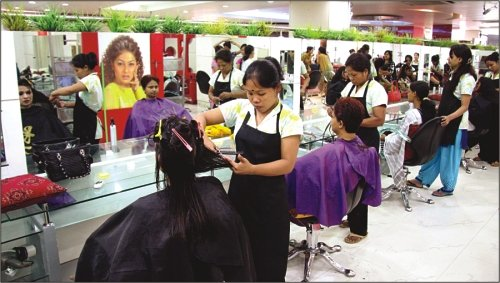 North-East Girl Joins 'Beautician' Course, Offered Massage Training