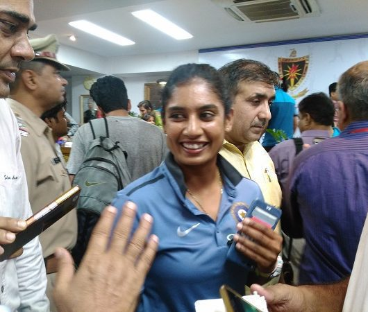 Mithali Raj unreserved train