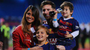 Lionel messi wife