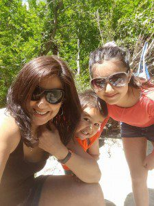 Ruchi Anand with kids