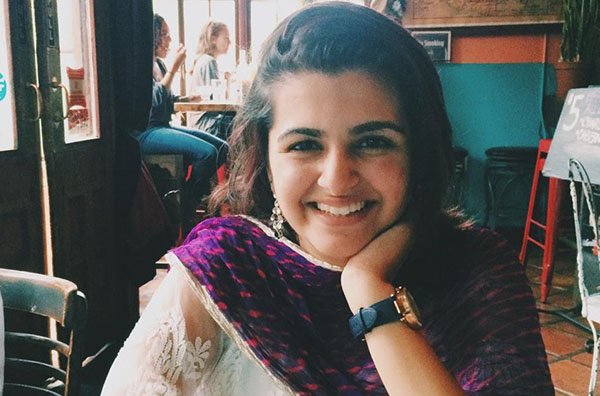 Sanjana Paramahans, social designer from New York