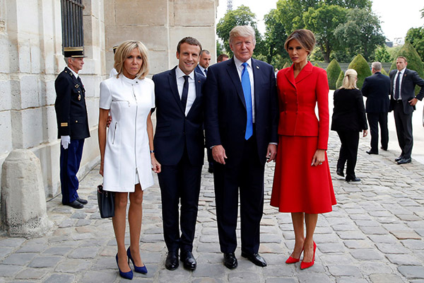 """trump-tells-france's-first-lady,-""""you're-in-such-good-shape"""""""