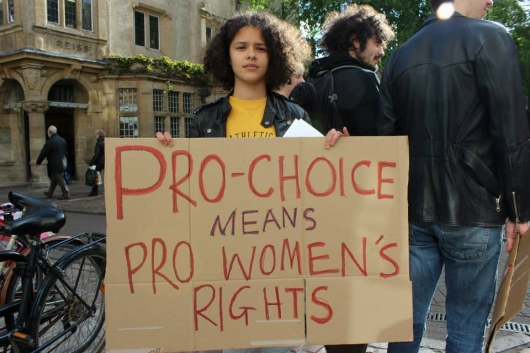 Women in Arkansas now need permission from their men before having an abortion // Pic credits: The Cambridge Student