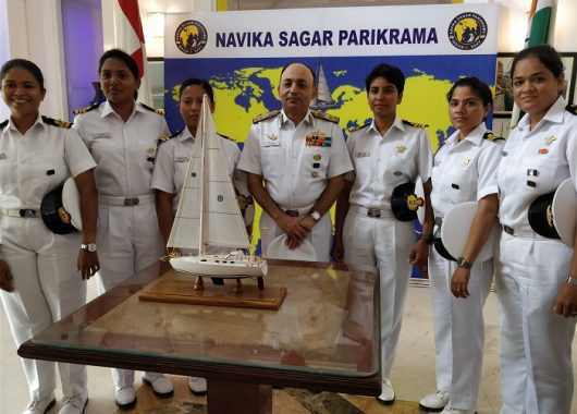 australian-ministers-laud-indian-navy-women-sailing-the-world