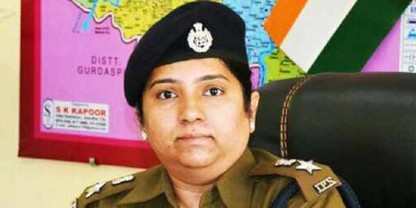 Jagdale Nilambari Vijay appointed as first woman SSP, Chandigarh
