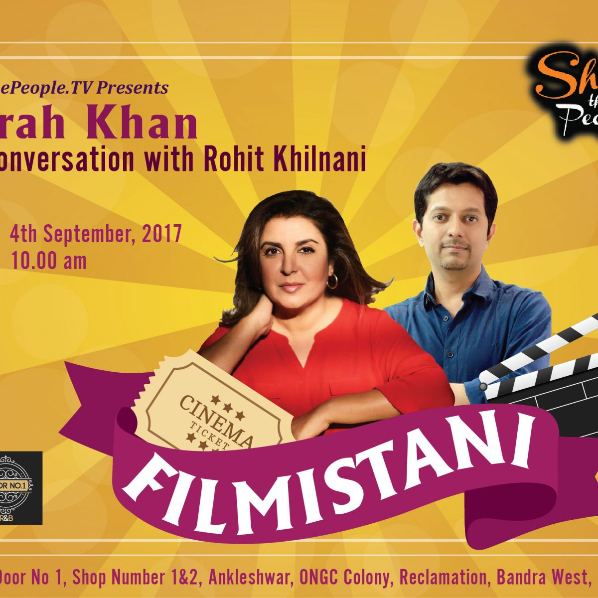 Filmistani with Farah Khan