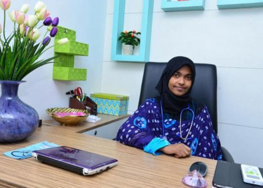 hadiya-shafin-is-now-a-doctor,-opens-her-own-clinic