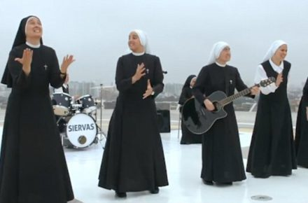 All nun rock band