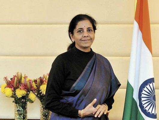 Nirmala Sitharaman is the Defence Minister