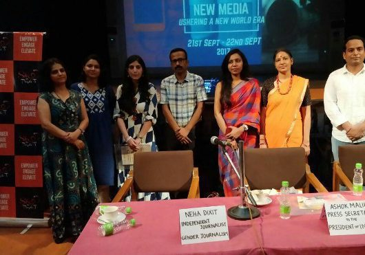 Panel discussion at Lady Shri Ram College