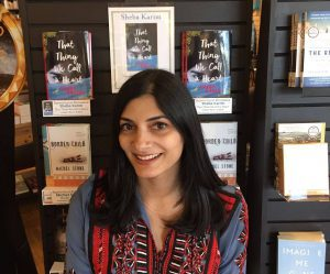 Young Adult fiction writer Sheba Karim