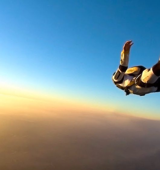 How Sky Diving Changes you