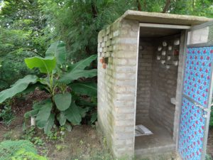 construction of toilets by better village better world