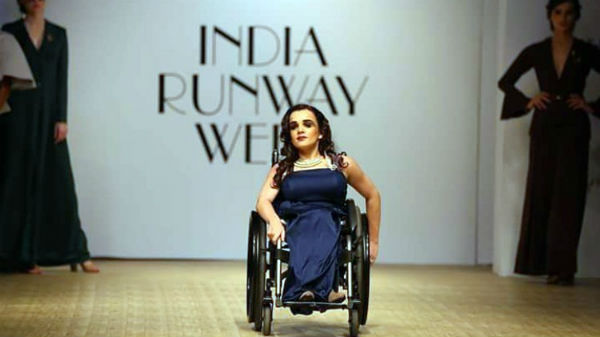 World's first wheelchair-bound model Alexandra Kutas