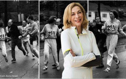 Pioneer Kathrine Switzer ready to run New York City Marathon