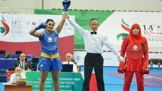Pooja Kadian Clinches India's First Gold In Wushu Worlds