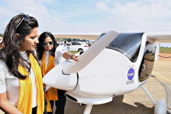 Mom-daughter duo flying to create awareness